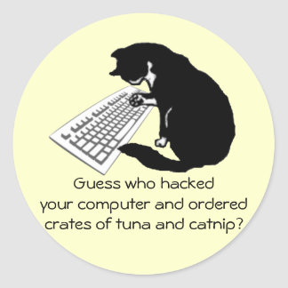 Typing Cat Stickers