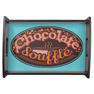 "Typo ""Chocolate Soufflé"" Serving Tray"