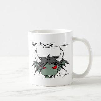 Typo Demon Mug: Spellcheck Coffee Mug
