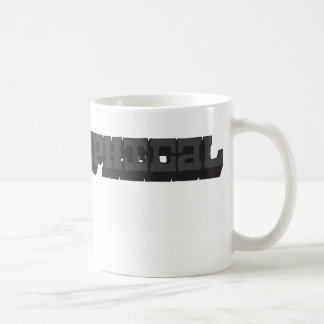 Typo-graphical Logo mug
