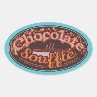 """Typo Sticker """"Chocolate Soufflé"""""""