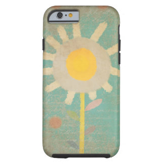 Typo Vintage Turquoise Old One Flower Case iphone  iPhone 6 Case