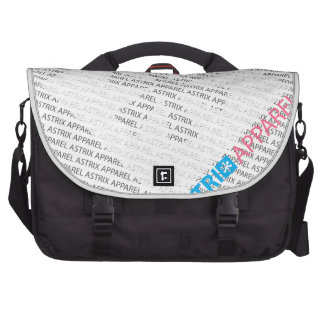 TYPOGRAPH DESIGN COMMUTER BAGS
