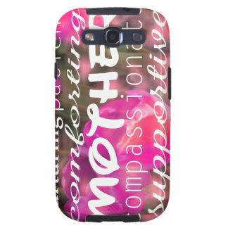 Typograph for Mothers Samsung Galaxy S3 Cases