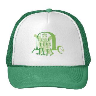 typograph-turtle trucker hat