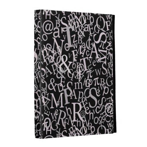 Typographic Art iPad Case
