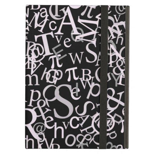 Typographic Art iPad Cover