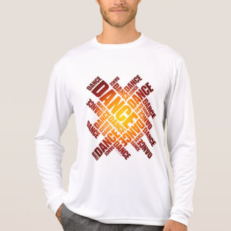 Typographic Dance (Fire) Shirts