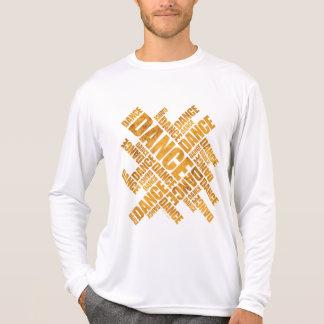Typographic Dance (Rust) Tee Shirt