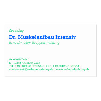 Typographic graphic visiting card business card templates