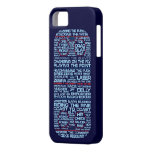 Typographic Ice Hockey Rink iphone 5 Case
