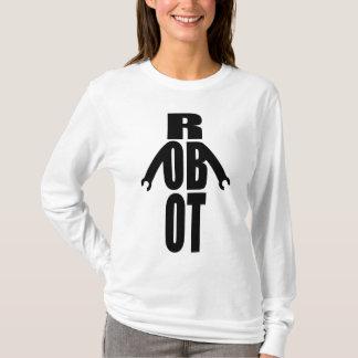 Typographic Robot T-Shirt