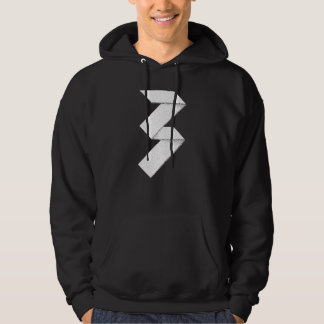 Typographical design. For people born in 1977. Hoodie