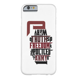 Typographical Grenade Barely There iPhone 6 Case