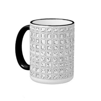 Typographical Mug