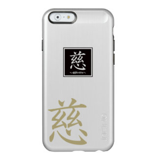 "Typography ""Affection "" of Chinese character Incipio Feather Shine iPhone 6 Case"