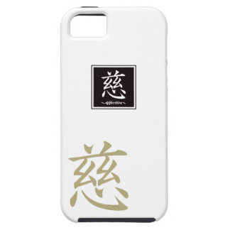 "Typography ""Affection "" of Chinese character iPhone SE/5/5s Case"
