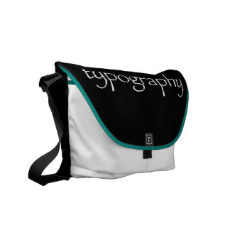Typography Bag (papyrus typeface)