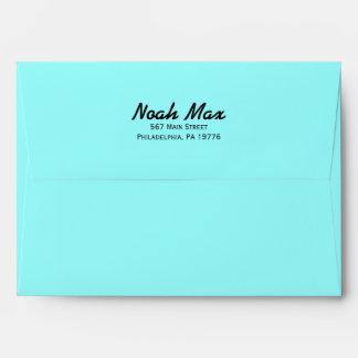 TYPOGRAPHY  Customizable Envelope Neon