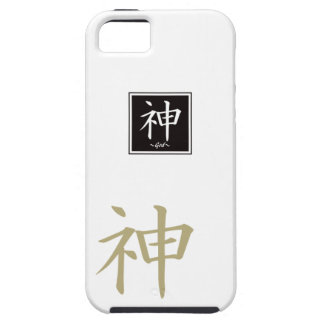 "Typography ""God "" of Chinese character iPhone SE/5/5s Case"