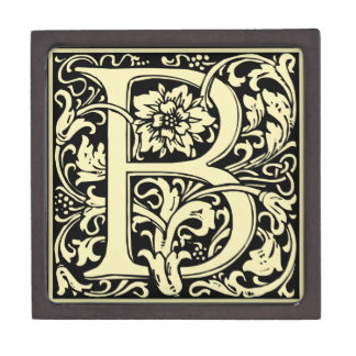 "Typography Initial ""B"" Gift Box. Gift Box"
