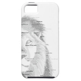 Typography Lion iPhone SE/5/5s Case