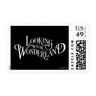 Typography | Looking for Wonderland Postage