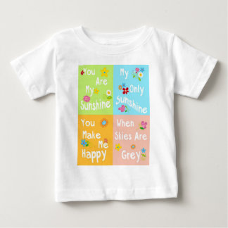 Typography Motivational Phrase – Collage Baby T-Shirt