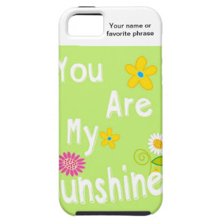Typography Motivational Phrase - Lime Green iPhone SE/5/5s Case