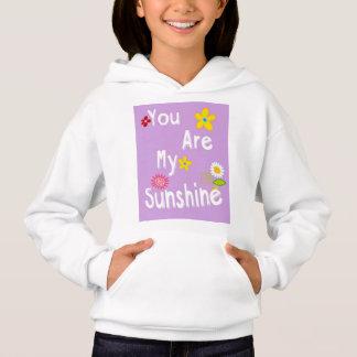 Typography motivational phrase - Pastel Lavender Hoodie