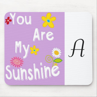 Typography motivational phrase - Pastel Lavender Mouse Pad