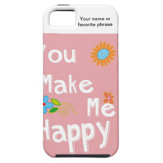 Typography motivational phrase - Pink iPhone SE/5/5s Case