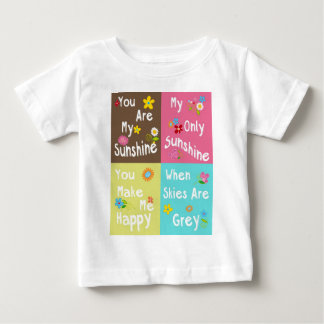 Typography motivational phrases - Collage Baby T-Shirt