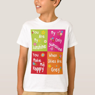 Typography motivational phrases - collage T-Shirt