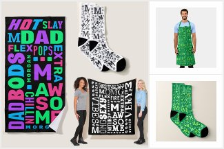 Typography Personalized Gifts And Home Decor