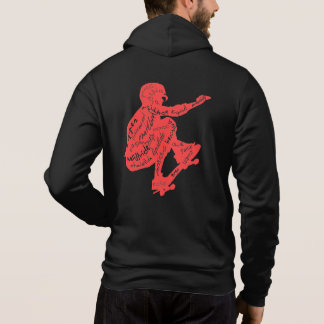 Typography - Skateboard Hoodies for Men