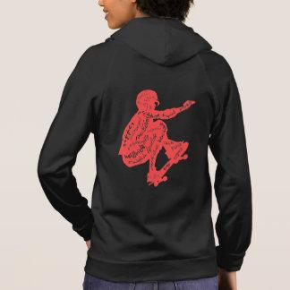 Typography - Skateboard Hoodies for Women