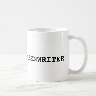 TYPWRITER screenwriter FADE IN - Customized - Coffee Mug