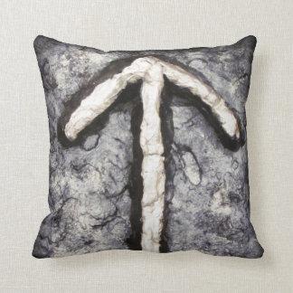 Tyr - Tiwaz T Throw Pillows