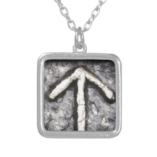 Tyr - Tiwaz (T) Silver Plated Necklace