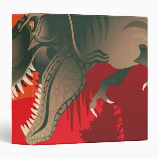 tyranasarus rex notebook 3 ring binder