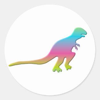 Tyrannasaurus Rex Dinosaur Classic Round Sticker