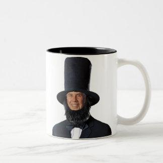 ¡Tyrannis del semper del Sic! Presiden feliz… Taza De Café