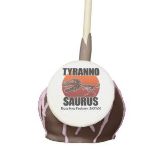 Tyrannosaurus Cake Pops