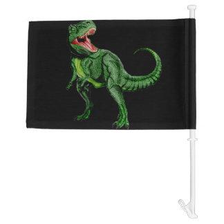 Tyrannosaurus Car Flag