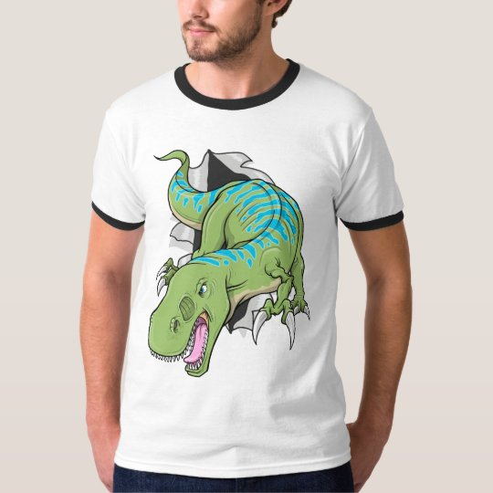 Tyrannosaurus Dinosaur ripping  T-Shirt