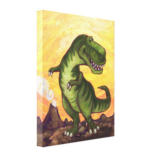 Tyrannosaurus Gifts & Accessories Canvas Prints