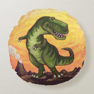 Tyrannosaurus Gifts & Accessories Round Pillow
