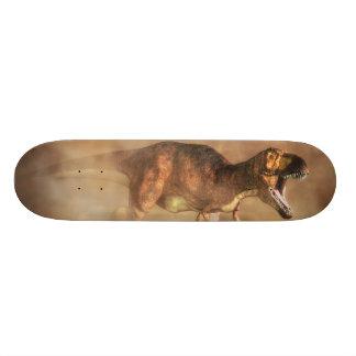 Tyrannosaurus in a Dust Storm Skateboard Deck