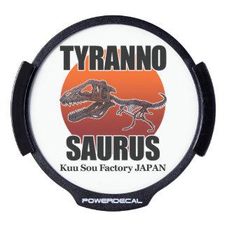 Tyrannosaurus LED Window Decal